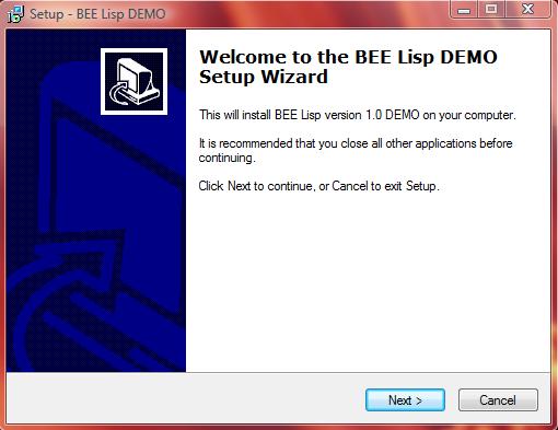 Try BEE Lisp compiler demo-version